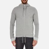 BOSS ORANGE Men's Ztager Zipped Hoody Grey