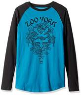 Zoo York Men's Take Out Long Sleeve Raglan