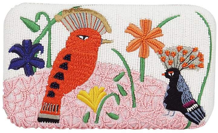 Alice + Olivia Embroidered Shoulder Bag