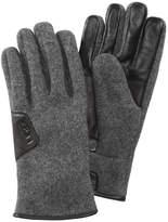 UGG Men's Leather-Trimmed Smart Gloves