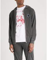 McQ Distressed cotton-jersey hoody