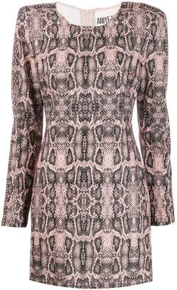 Aniye By snake print dress