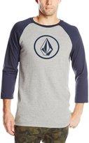 Volcom Men's New Circle Raglan T-Shirt