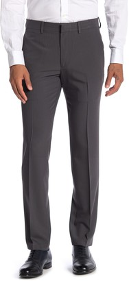 "Kenneth Cole Reaction Herringbone Solid Suit Separates Trousers - 29-34"" Inseam"