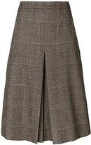 Veronique Branquinho tweed pleat skirt