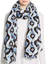 Aqua Ikat Pareo Scarf - 100% Exclusive