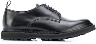 Officine Creative Round-Toe Lace-Up Shoes