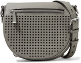 Rebecca Minkoff Astor perforated and textured-leather shoulder bag