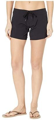 Rip Curl Classic Surf 5 Boardie (Black) Women's Swimwear