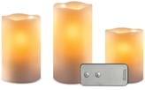 Studio Mercantile 3-Pc. LED Flameless Candle & Remote