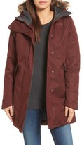 The North Face Women's Far Northern Waterproof Down Parka With Faux Fur Trim