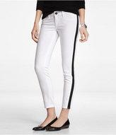 Express Stella Tuxedo Stripe Ankle Jean Legging
