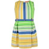 Oilily OililyGirls Multi Striped Duffalo Dress