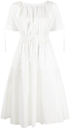 Moncler Drawstring Flared Dress