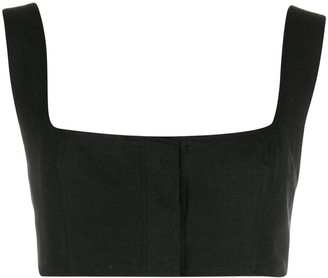 Le Kasha Sleeveless Cropped Top