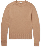 Saint Laurent Slim-Fit Camel Hair Sweater
