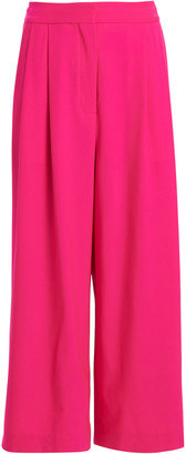Adam Lippes High-Rise Pleated Wool Culottes