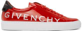 Givenchy Red Patent Urban Knots Sneakers