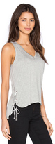 Feel The Piece Crosser V Neck Tank