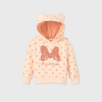 Disney Toddler Girls' Minnie Mouse Sequin Pullover -