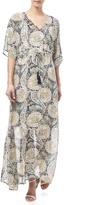 Freeway Print Maxi Dress
