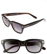 Tom Ford 'Snowdon' 50mm Sunglasses