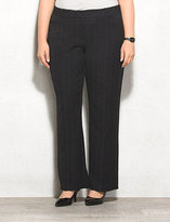 dressbarn roz&ALI Secret Agent Menswear Trouser Pants Short Plus