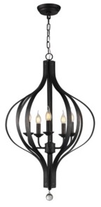 """Home Accessories Anzola 13"""" 5-Light Indoor Pendant Lamp with Light Kit"""