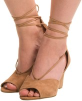 Adrienne Vittadini Marcey Wedge Sandals - Suede (For Women)