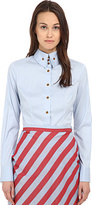 Vivienne Westwood Classic Krall Shirting Women's Long Sleeve Button Up