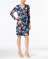Thalia Sodi Floral-Print Wrap Dress, Only at Macy's