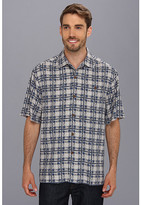 Tommy Bahama Sail-A-Wave Plaid Camp Shirt
