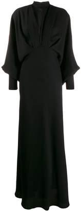 Cavallini Erika high neck maxi dress