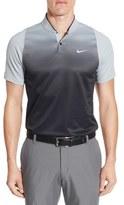 Tiger Woods Golf Apparel by Nike Nike Velocity Max Sphere Stripe Golf Polo