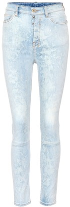 Unravel High-waisted jeans