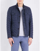 HUGO BOSS Zigzag quilted jacket