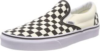 Vans Unisex Adults' Classic Slip On Black/White Checker 3 UK