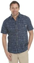 Woolrich Men's Classic-Fit Patterned Button-Down Shirt