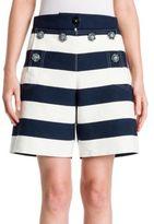 Dolce & Gabbana Striped Cotton Shorts