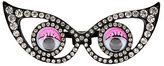 Betsey Johnson Googly Eyes Double Ring