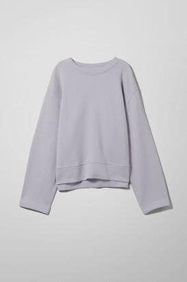 Weekday Donnie Sweatshirt - Purple