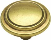 Hickory Hardware P413-LP 1-1/4-Inch Manor House Knob, Lancaster Hand-Polished