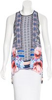 Clover Canyon Digital Print Sleeveless Top