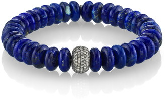 Lapis Sheryl Lowe Bracelet with Pave Diamonds