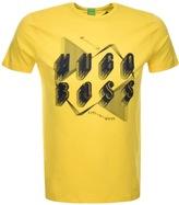 BOSS GREEN Teeos T Shirt Yellow