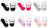 Circo Toddler Girls' Ballerina Low Cut Socks 6 pk Multicolored