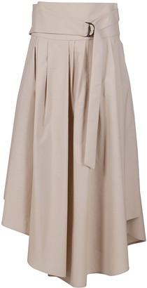 Brunello Cucinelli Asymmetric Hem Skirt