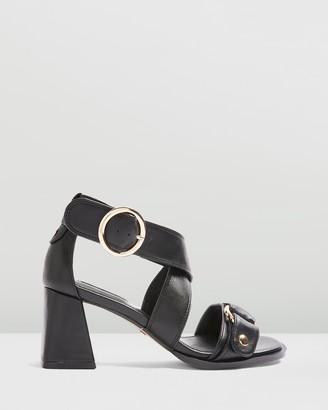 Topshop Dara Stud Sandals