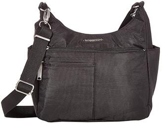 Baggallini Anti-Theft Free Time Crossbody (Black) Handbags