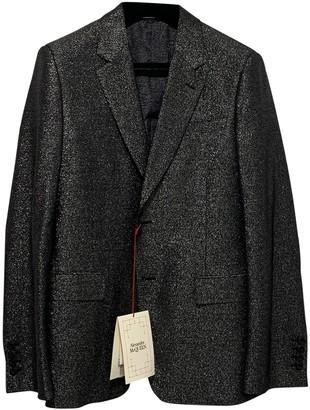 Alexander McQueen Metallic Wool Jackets